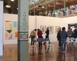 Melbourne Art Fair August 2014 at Royal Exhibition Building Melbourne Australia Photo taken by Karen Robinson whilst visiting IMG_0398.JPG
