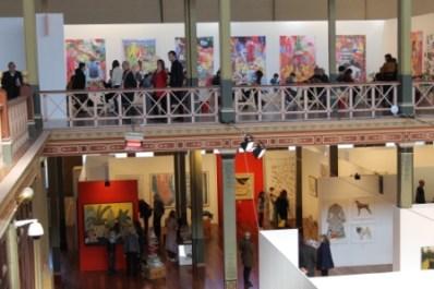 Melbourne Art Fair August 2014 at Royal Exhibition Building Melbourne Australia Photo taken by Karen Robinson whilst visiting IMG_0475.JPG