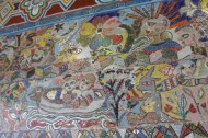 No. 16 of 70 images of MIRKA MORA'S FLINDERS ST STATION MURAL – Melbourne Australia Photographed by Karen Robinson 18th April 2015 NB All images are subject to copyright laws