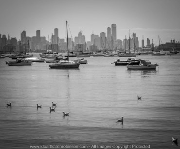 Williamstown, Victoria - Australia 'Port Phillip Bay' Photographed by © Karen Robinson www.idoartkarenrobinson.com Feb 2017
