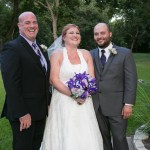 Austin wedding officiant bride and groom at Chateau on the Creek
