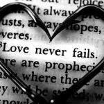 Love Never Fails Scripture