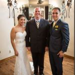 Kali-Kate Austin wedding ceremony officiant and couple