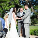 Cimmaron Hills Austin Officiant bride and groom