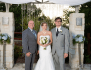 Austin officiant bride and groom