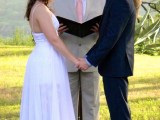 Wedding Vows bride groom and officiant