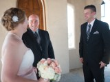 Bride, Groom and Austin Officiant