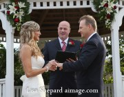 Round Rock Wedding Officiant and couple