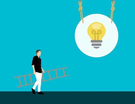 empreendedor de sucesso com ideia