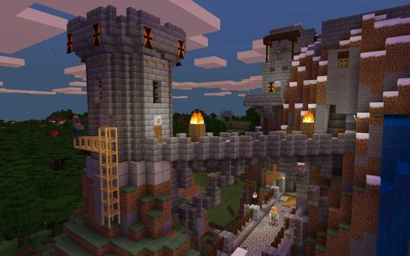Construções fabulosas no Minecraft