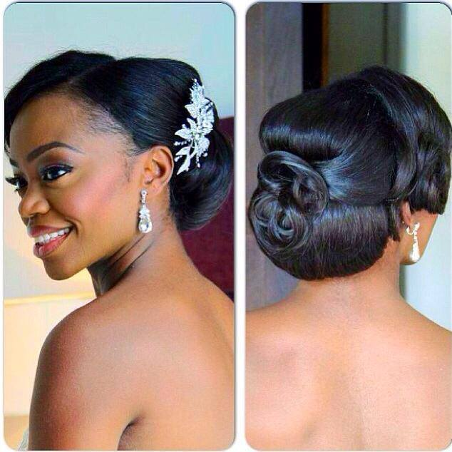 I Do Ghana Presents Charis Hair For Bridal Hairspiration