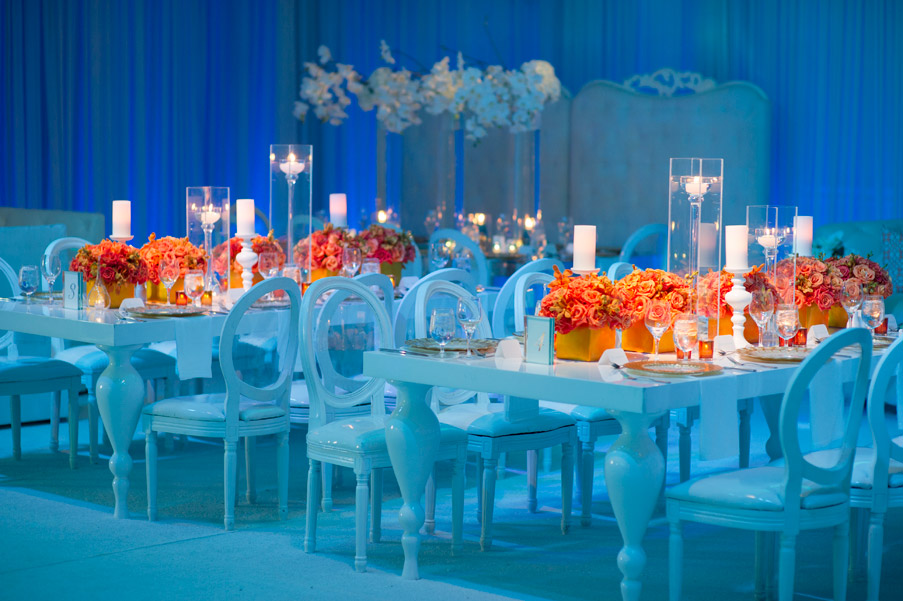 FROM KENTE TO PALETTES ORANGE AND WHITE WEDDING