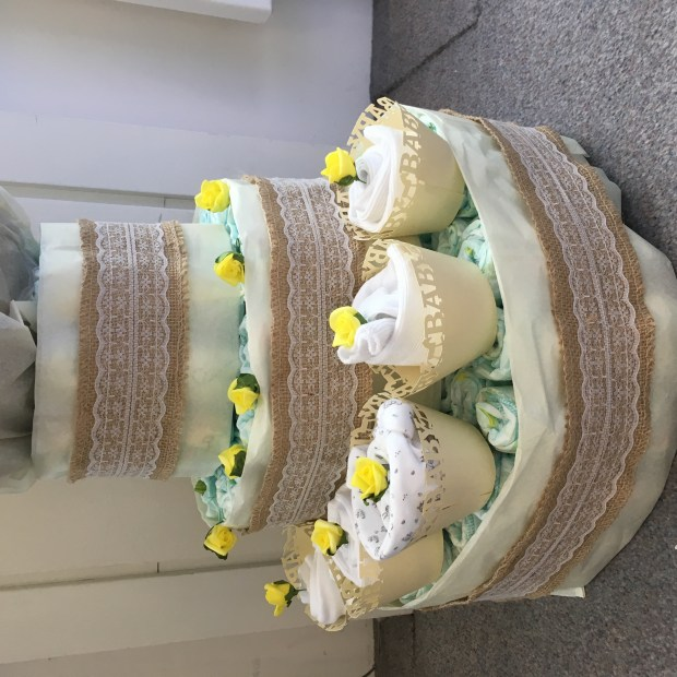 nappy cake designs