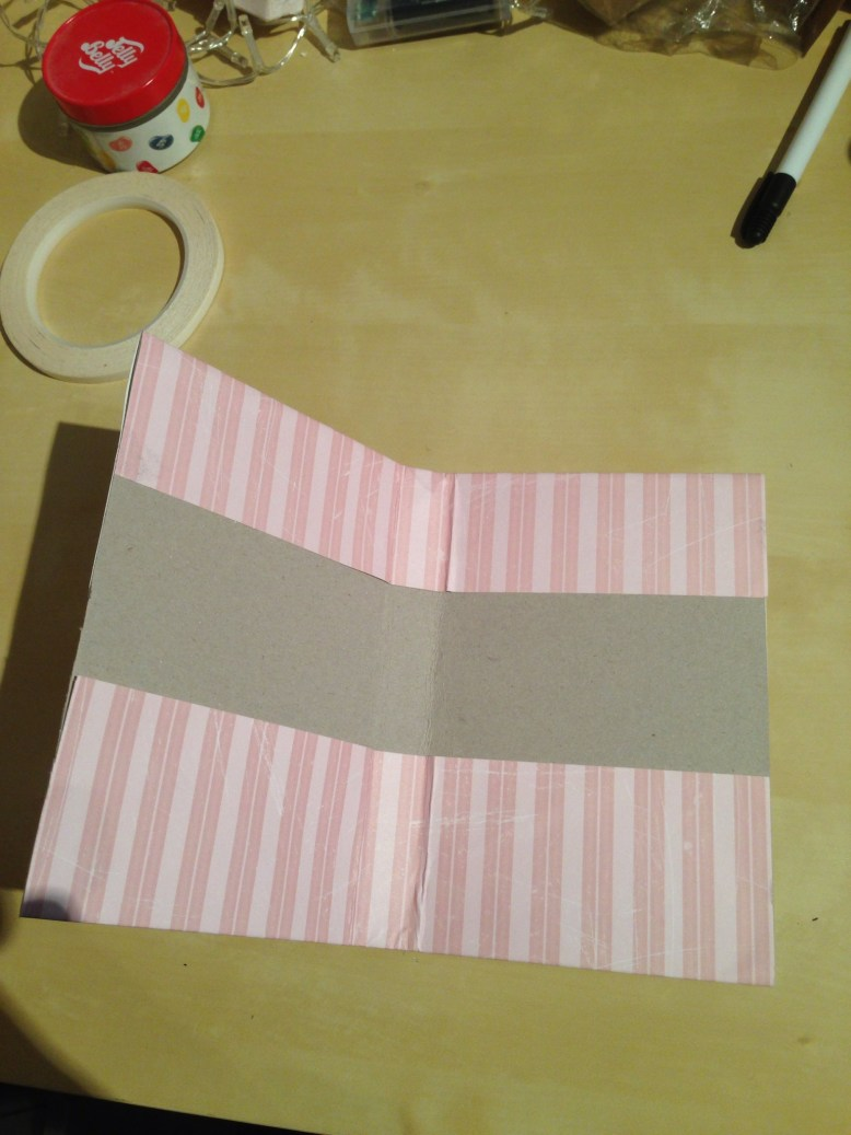 handmade gift idea writing kit in the making
