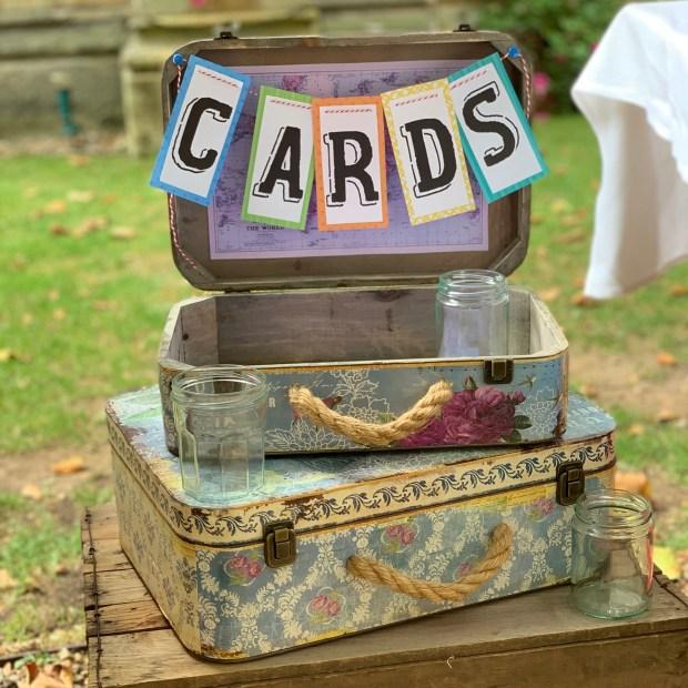 Personalised cards display