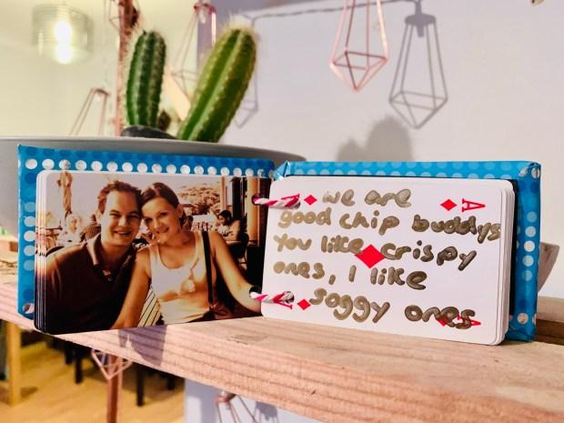 handmade gift 52 reasons why I love you