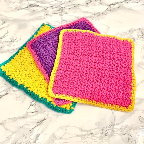 crochet kit wash cloths