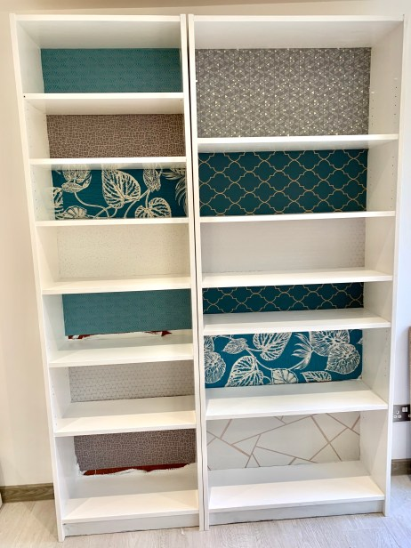 ikea hack upcycled billy bookcase