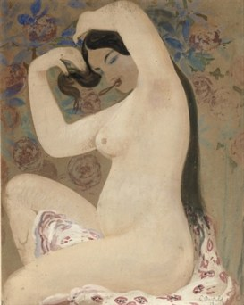 La Houri: Black-eyed beauty , 1919