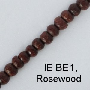 IE BE 1 - Wood Bead chain, Rosewood