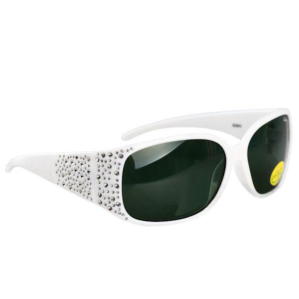 Kids I - IE3043, White girls sunglasses