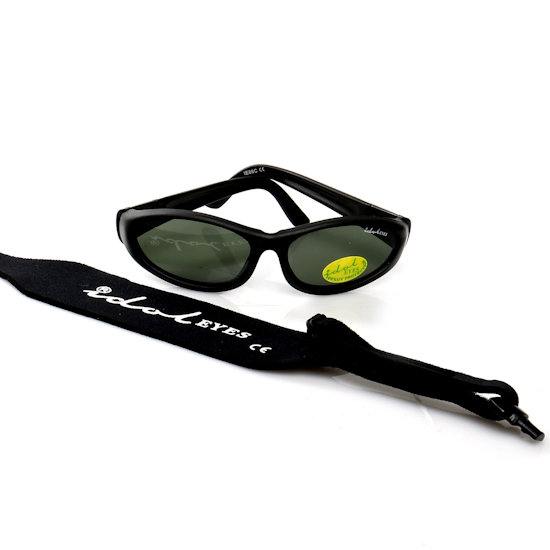 Baby Wrapz 2, Black convertible baby sunglasses