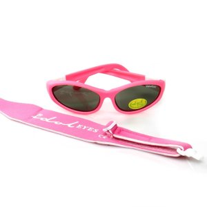 Baby Wrapz 2, Pink convertible baby sunglasses