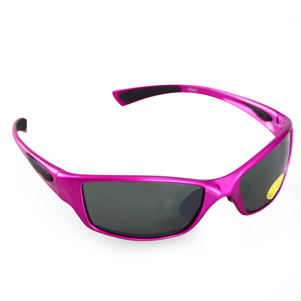 Kids 1 - IE9035, Shiny purple kids sports sunglasses