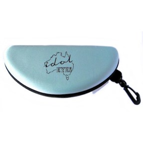 IE SHD Semi Hard case, baby blue. Designed to protect your sunglasses
