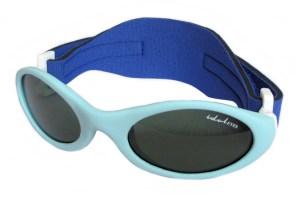 Premy Wrapz, Baby blue sunglasses with G-15 lens.