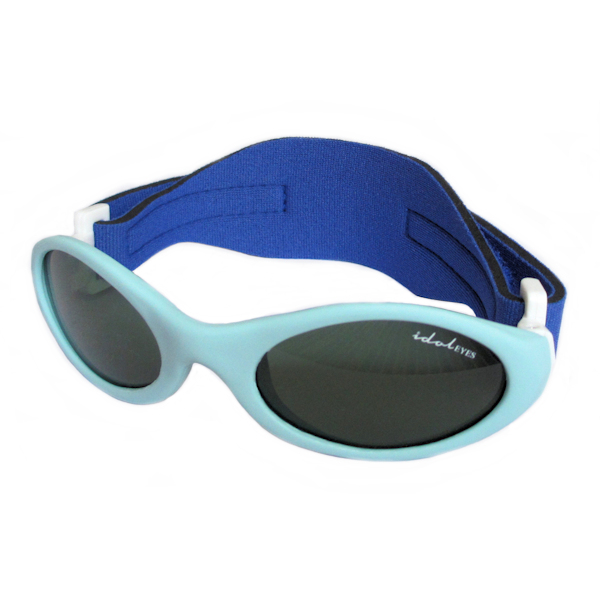 Premy Wrapz, Baby blue sunglasses with G-15 lens.