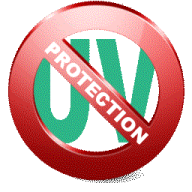100% UV Protection logo