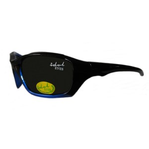 Kids I - IE5436, Black-blue frame side view with G-15 lens
