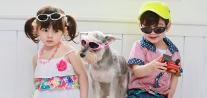 Looking good in Idol Eyes Australia Baby Wrapz 2 sunglasses