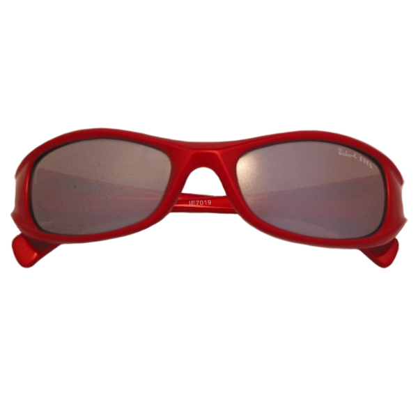 Kids I - IE7019, Shiny Metallic Red frame with silver mirror lens