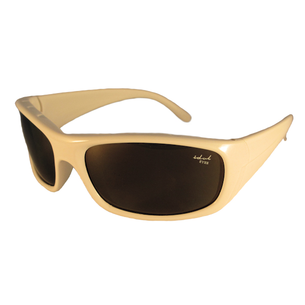 Kids 1 - IE5634 White frame with Brown mirror lens