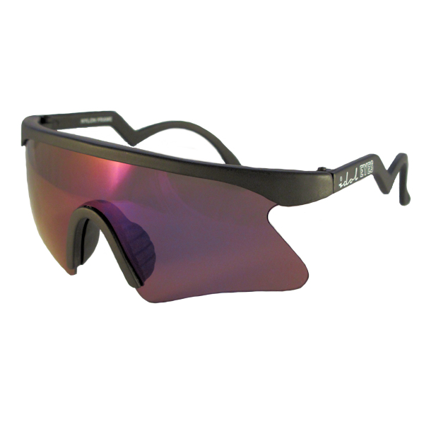 Kids II - IE 735CSX, Black frame kids blade sunglasses