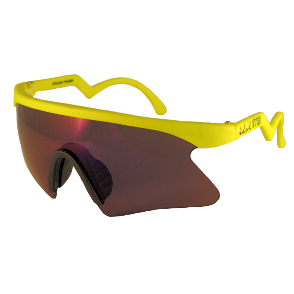 Kids II - IE 735CSX, Yellow frame kids blade sunglasses