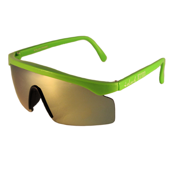 Tiny Tots I - IE 770SS, Green frame toddler blade sunglasses