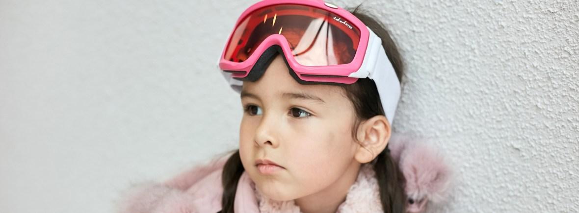Idol Eyes Ski Goggles pink, girl