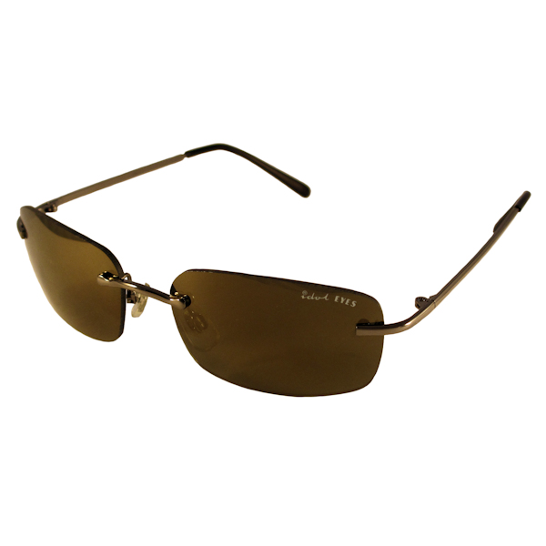 Kids I - IE008, Gunmetal frame with Gold mirror lens