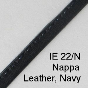 IE 22-N Nappa Leather Navy spectacle cord