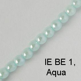 IE BE 1, Aqua Pearl spectacle chain
