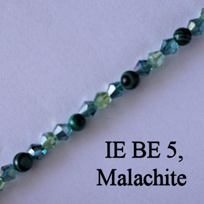 IE BE 5, Malachite spectacle chain
