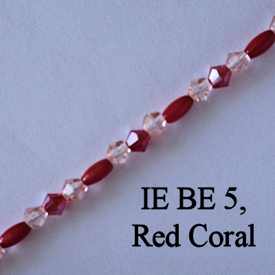 IE BE 5, Red Coral spectacle chain
