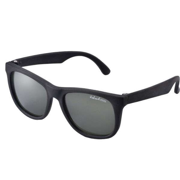 Tiny Tots II - IE1027MR, Black frame traditional toddler sunglasses with G-15 lens