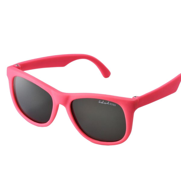 Tiny Tots I - IE1027SR, Pink frame traditional toddler sunglasses with G-15 lens