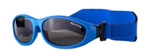 BABY WRAPZ, Blue frame with a headband and G-15 lens
