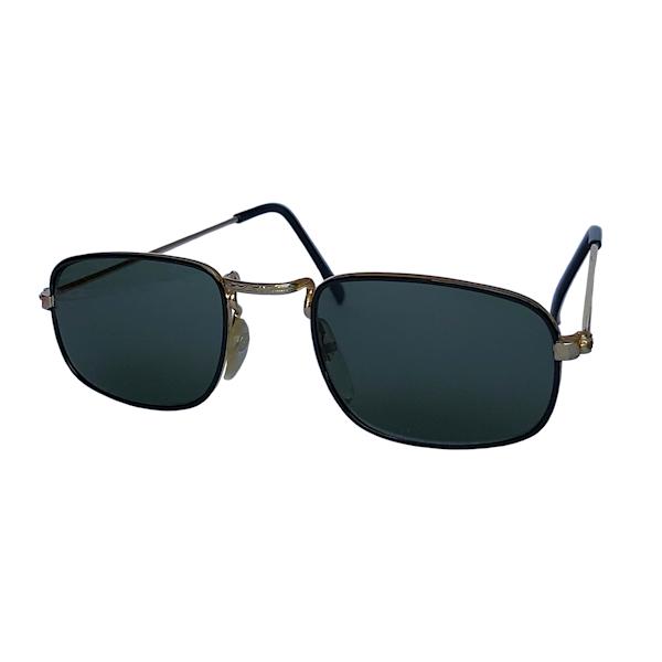 IE 041 Black, Classic metal square sunglasses