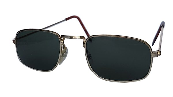IE 041 Gold, Classic metal square sunglasses